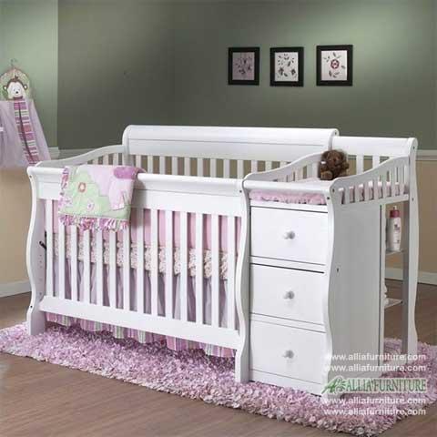 tempat tidur bayi balita model fuji