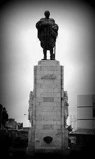 Close do Monumento ao General José de Artigas, na Recoleta