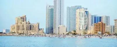 شواطئ مدينة عجمان الذهبية