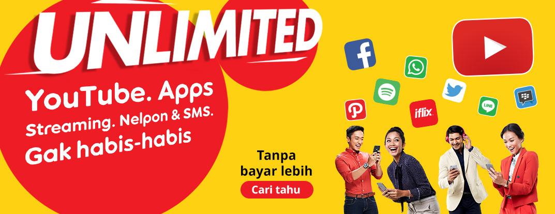 Image result for unlimited indosat