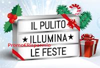 Logo Il Pulito Illumina le Feste: ricevi una lampada personalizzabile (premio certo)