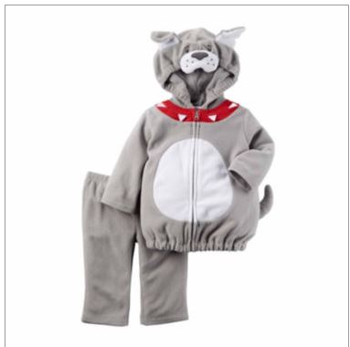 carters little bulldog costume baby boys newborn 24m dress him in our two piece little bulldog costume and he can pretend to be a watchdog