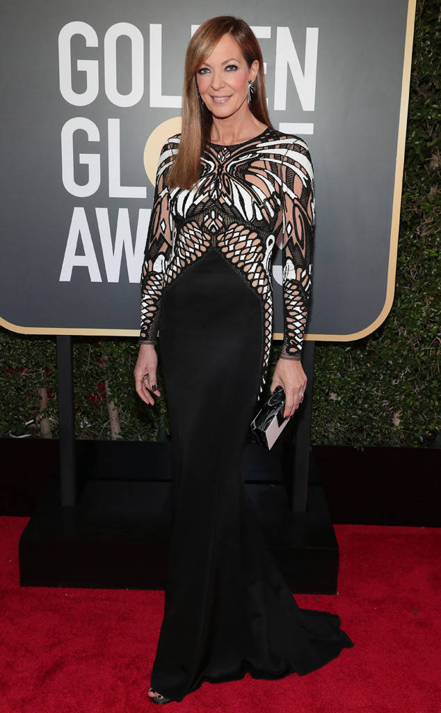 Allison Janney in Mario Dice golden globes 2018