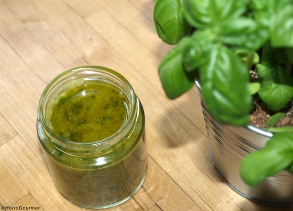Receta Salsa Pesto paso a paso HortoGourmet
