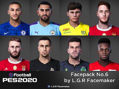 PES 2020 Facepack No.6 by L.G.R Facemaker
