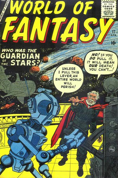 Kirby World of Fantasy Marvel