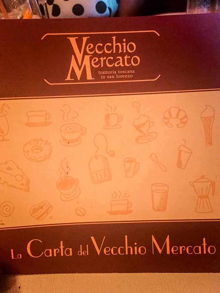 Vecchio Mercato Florence Italy