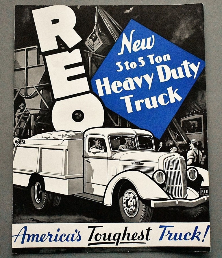 American Auto Emblems: REO TRUCK