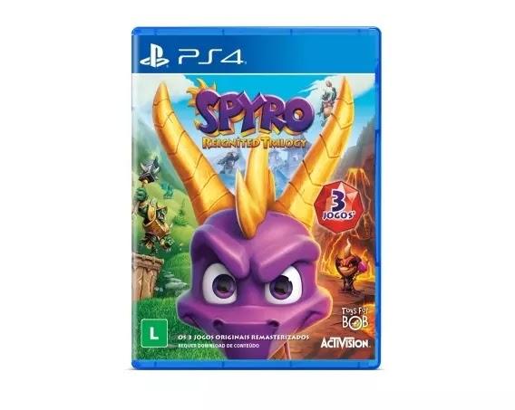 Jogo Spyro Reignited Trilogy [PS4]