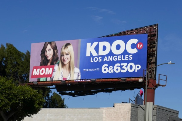 Mom sitcom billboard
