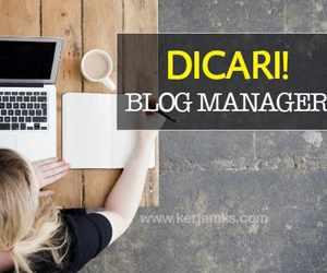 Lowongan Kerja Blog Manager