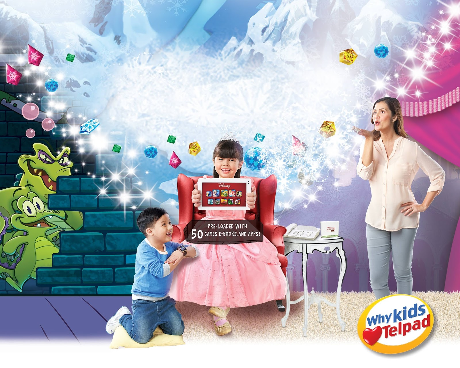 PLDT HOME Telpad with Disney