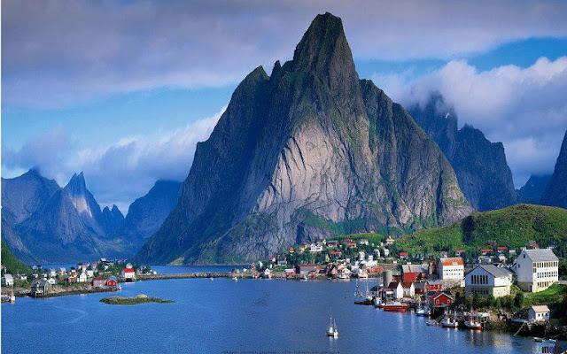 Gudvangen, Norveç