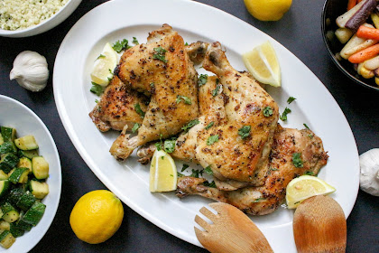 Garlic Lemon Pepper Chicken