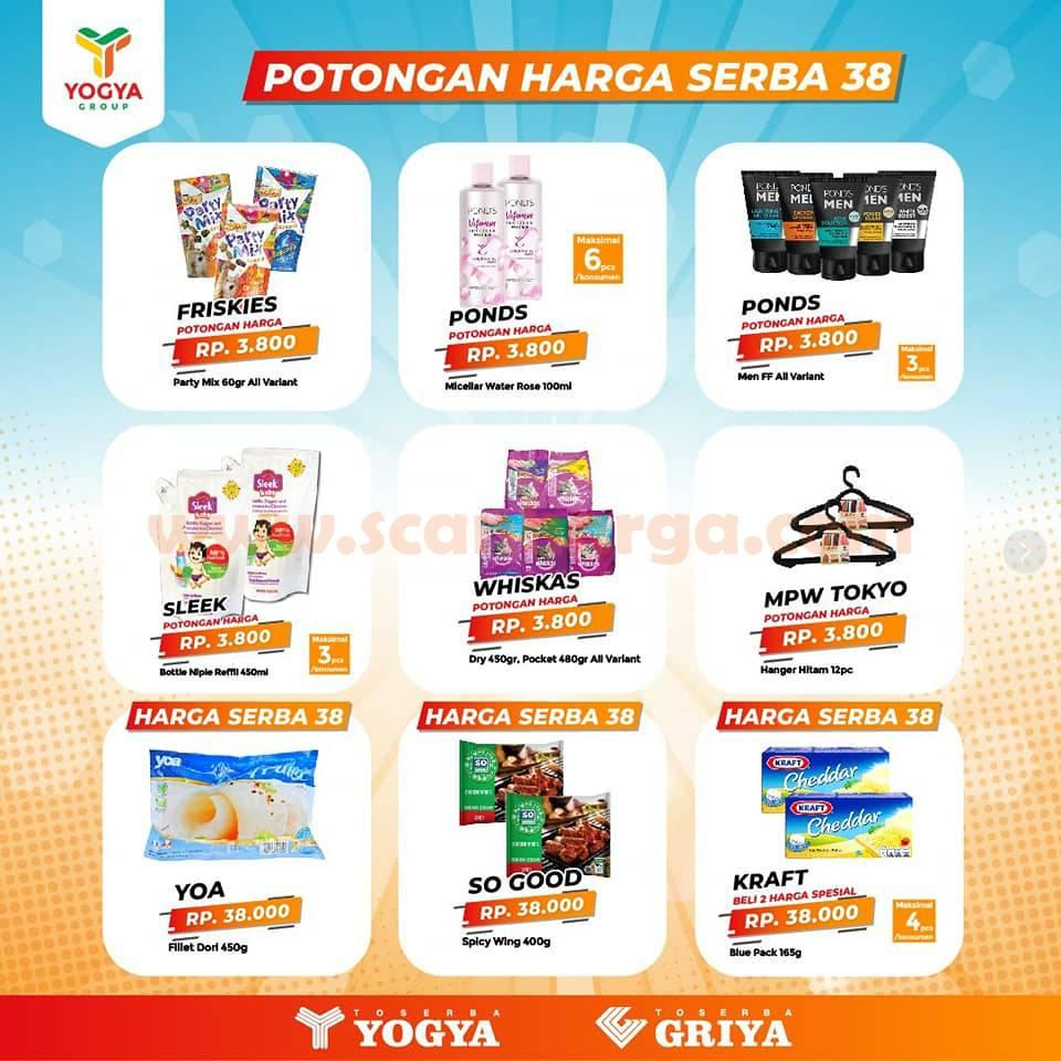 Katalog Promo Toserba Yogya Weekday Terbaru 9 12 November 2020 Scanharga