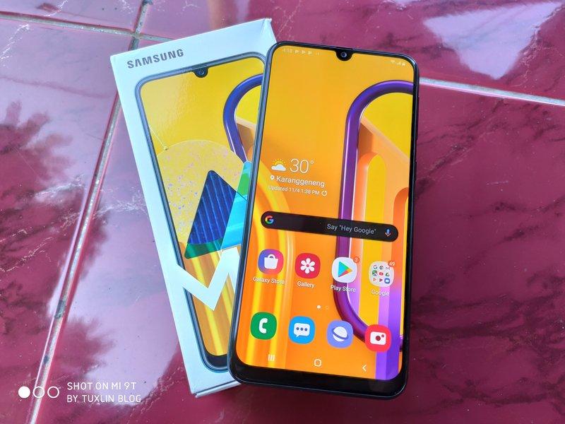 Benchmark AnTuTu Samsung Galaxy M30s Bertenaga Exynos 9611