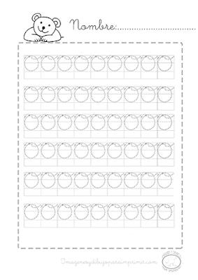Caligrafia para repasar e imprimir