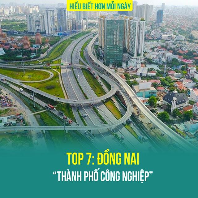 Top 7: Đồng Nai – Thành phố công nghiệp