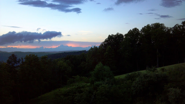 Mountains in West Virginia