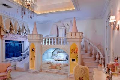 ห้องนอนเจ้าหญิง สำหรับเด็ก