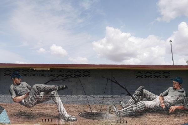 Street Art in Wagga Wagga by Fintan Magee