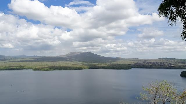 Volcano Lake near Managua