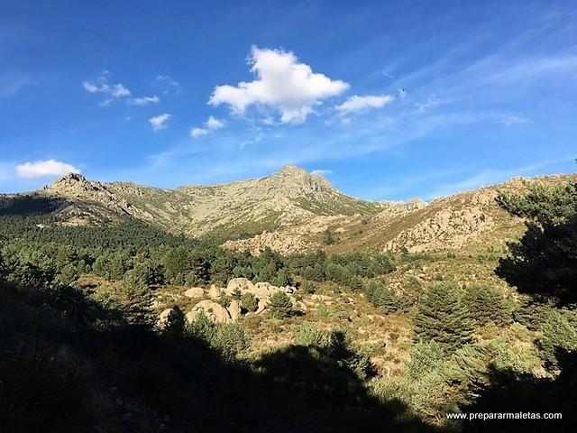ruta de senderimos valle de la barranca