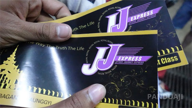 Tiket Bus JJ Express