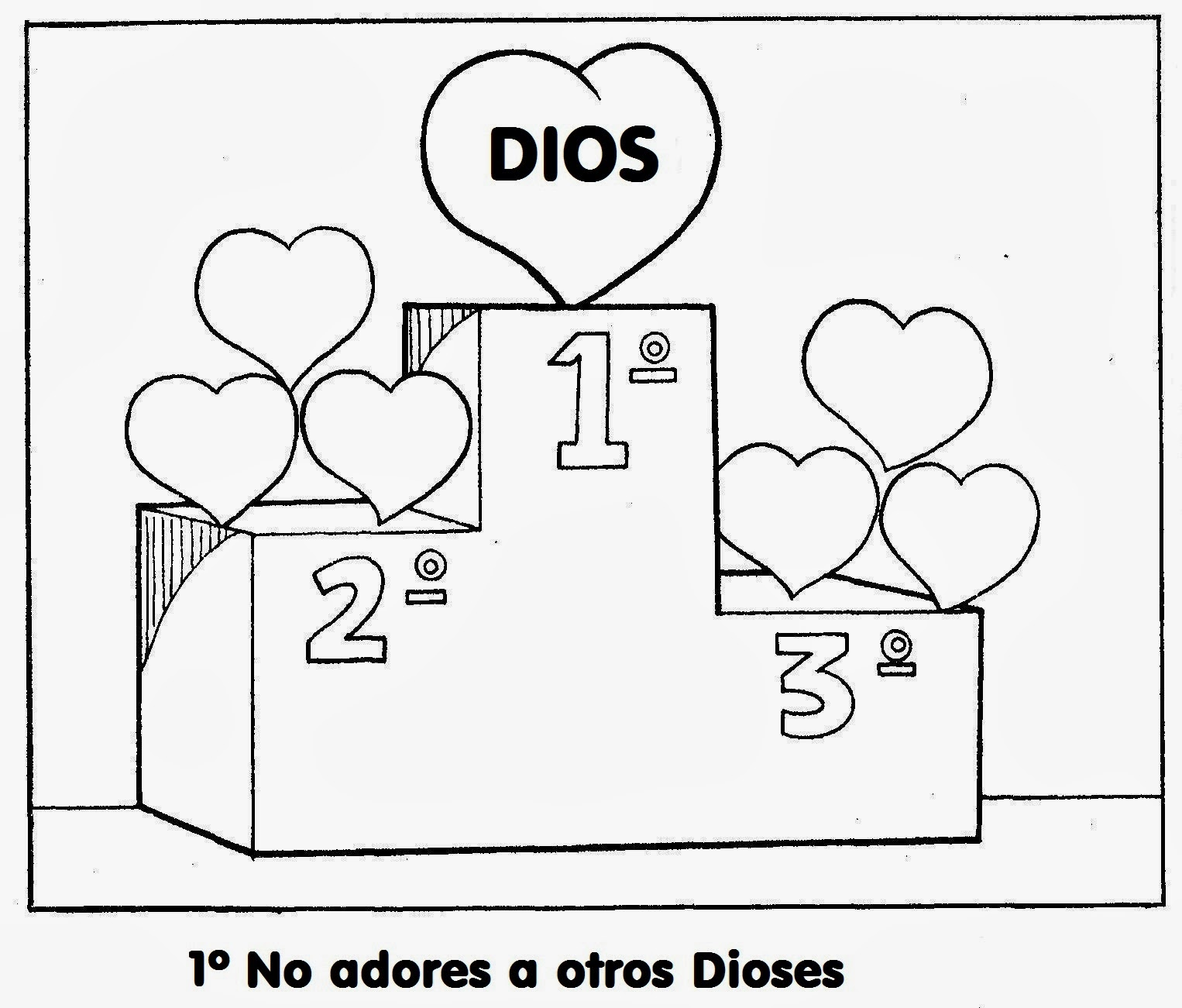 Famoso Páginas Para Colorear Para Historias Bíblicas Para Niños ...