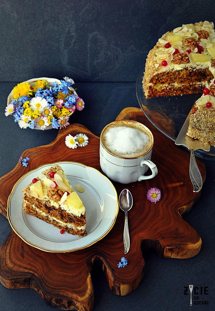 ciasto z warzywami, ciasto z marchewka, breville, mikser breville, wypieki breville, Breville HeatSoft, HeatSoft