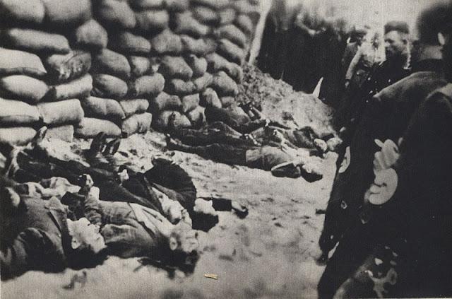 an troops execute 10 Polish hostages in German-occupied Gąbin 15 June 1941 worldwartwo.filminspector.com