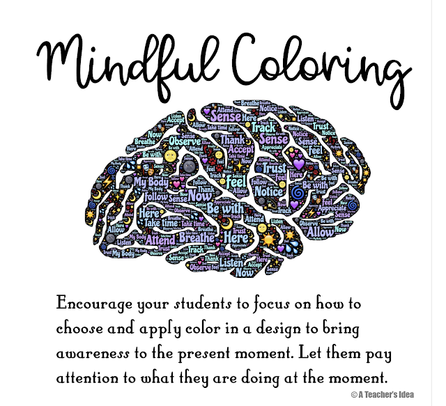 mindful coloring; mindful colouring
