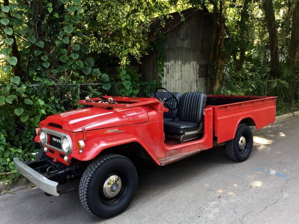 1965 Toyota Land Cruiser FJ45 Pickup