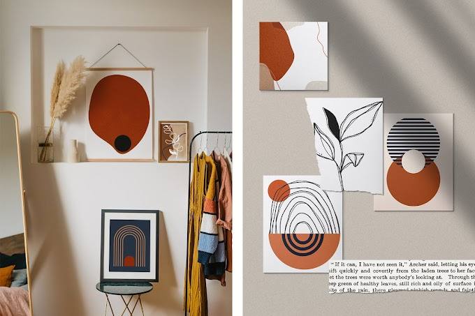 Geometric Abstract Shape Collection, Perfect Illustration to Use in Branding