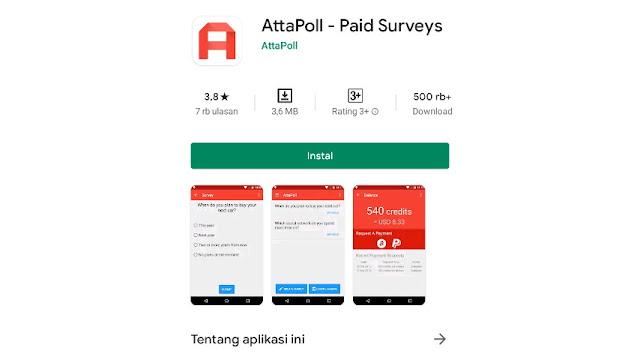 Aplikasi AttaPoll
