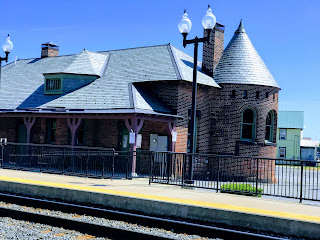 Train Station at Rouses Point