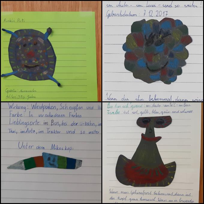 Schülertexte Willi Virus Fantasie Steckbrief