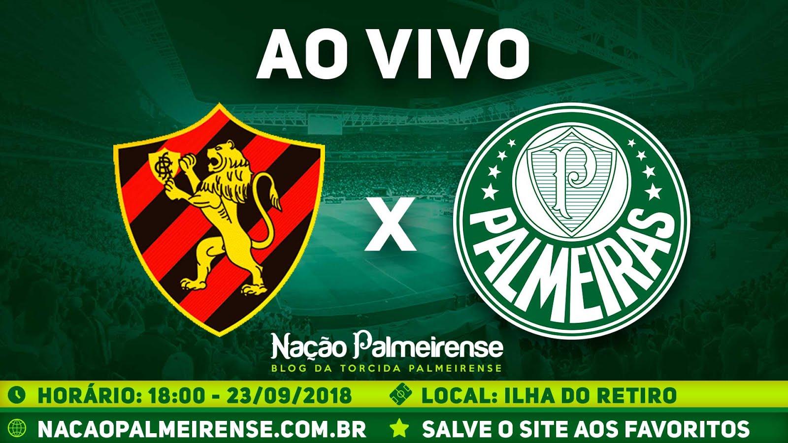 Assistir Sport x Palmeiras Ao Vivo
