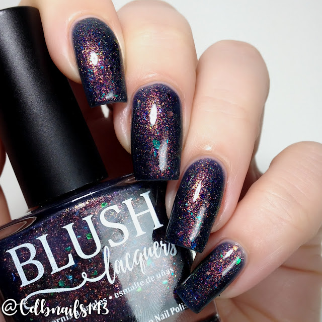 BLUSH Lacquers-Not Your Average Seahorse
