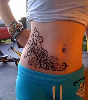 belly-mehndi-designs-2016-for-diwali