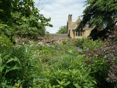 Tall planting in the Old Garden Inspiring ideas from Hidcote Green Fingered Blog
