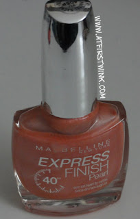 Maybelline express finish pearl nail polish - Pearly pastel