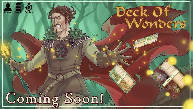 Deck of Wonders coming soon