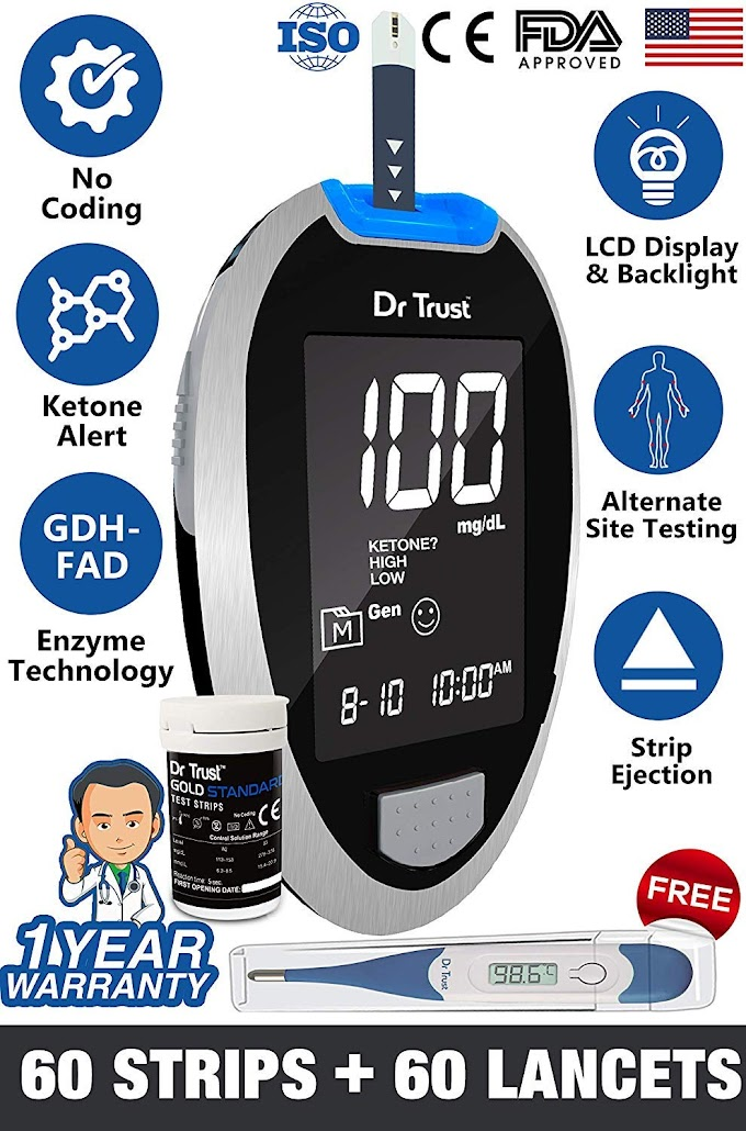 Dr Trust (USA) Fully Automatic best Glucometer