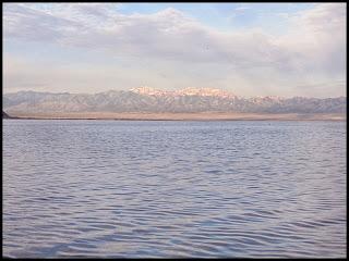 Sunrise on the Great Salt Lake