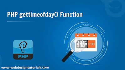 PHP gettimeofday() Function