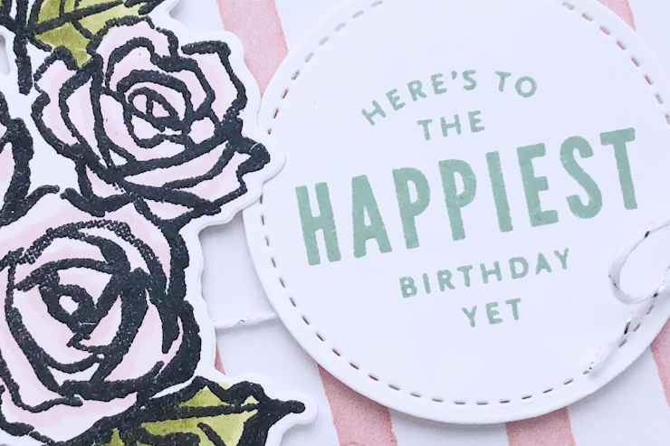 Jo's Stamping Spot - Floral Birthday