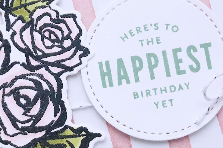 Jo's Stamping Spot - Floral Birthday