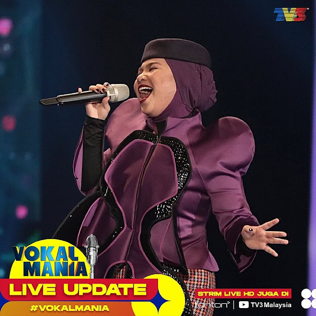Live Streaming Vokal Mania TV 3 Minggu 5