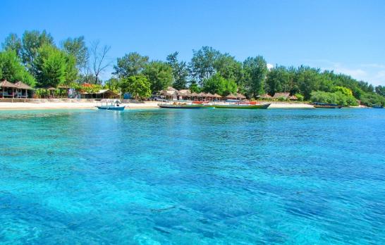 Surga Kecil Gili Meno Indonesia Travel